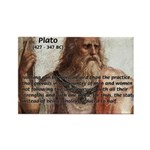 Plato: Philosophy / Equality Rectangle Magnet (10