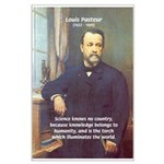 Louis Pasteur: Science Humanity Large Poster