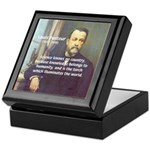 Louis Pasteur: Science Humanity Keepsake Box