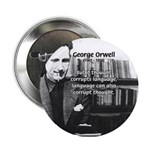 George Orwell: Language Thought Button