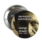 """Orwell Big Brother 1984 2.25"""" Button (100 pack)"""