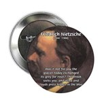 "Master of Prose: Nietzsche 2.25"" Button (100 pack)"