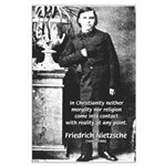 Critic of Religion: Nietzsche Large Poster