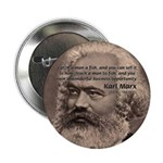 "History Analyst Karl Marx 2.25"" Button (100 pack)"
