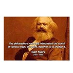 Power of Change Karl Marx Postcards (Package of 8)