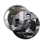 "Humanist John F. Kennedy 2.25"" Button (100 pack)"