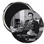 "Humanist John F. Kennedy 2.25"" Magnet (100 pack)"