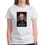 Media Thomas Jefferson Women's T-Shirt
