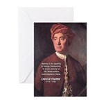 David Hume on Beauty Greeting Cards (Pk of 10)