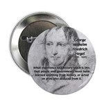 """History Lessons Georg Hegel 2.25"""" Button (10 pack)"""