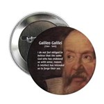 "Ignorance Religion Galileo 2.25"" Button (100 pack)"