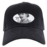 Freedom of Thought Bruno Black Cap