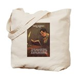 French Poets Baudelaire Tote Bag