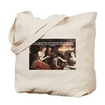 Pythagoras Quote on Women  Tote Bag