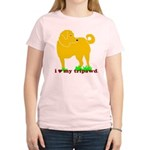 I love My Tripawd Three Legged Golden Retriever T-Shirts