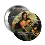 Leonardo da Vinci Art Spirit Button