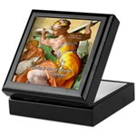 Words on Genius Michelangelo Keepsake Box