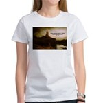 Rembrandt Painting & Quote Women's T-Shirt