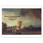 Rembrandt: on God & Painting Small Poster