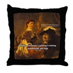 Art & Atmosphere Rembrandt Throw Pillow