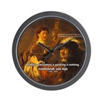 Art & Atmosphere Rembrandt Wall Clock