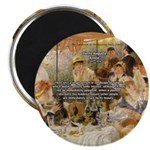 "Renoir Quote and Landscape 2.25"" Magnet (100 pack)"