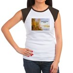 Alfred Sisley Nature Quote Women's Cap Sleeve T-Sh