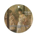 Aesop Quote Psyche Painting Ornament (Round)