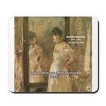 Aesop Quote Psyche Painting Mousepad