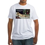 Freud Erotic Quote and Titian Fitted T-Shirt