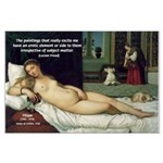 Freud Erotic Quote and Titian Large Poster